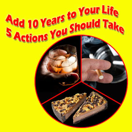 Five Actions to Live a Longer Life